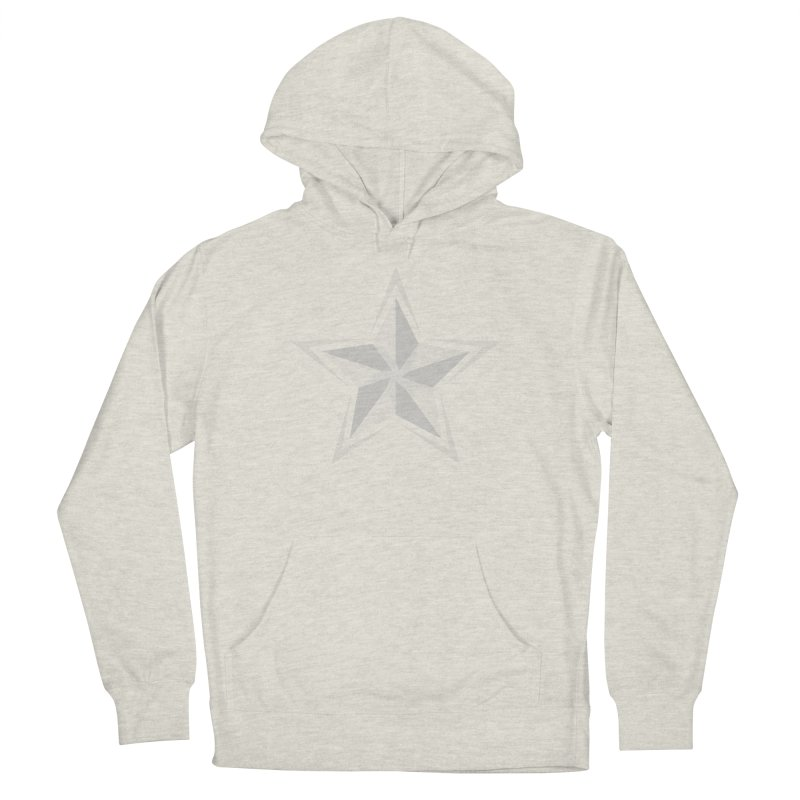 Star Men's French Terry Pullover Hoody by sleekandmodern's Artist Shop