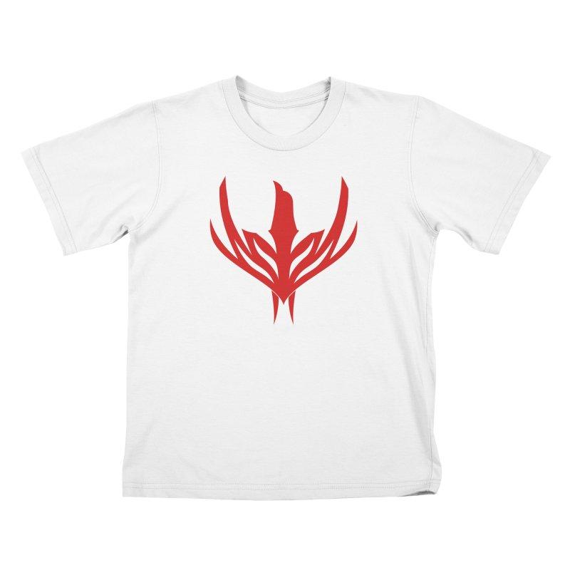 Phoenix Kids T-Shirt by sleekandmodern's Artist Shop