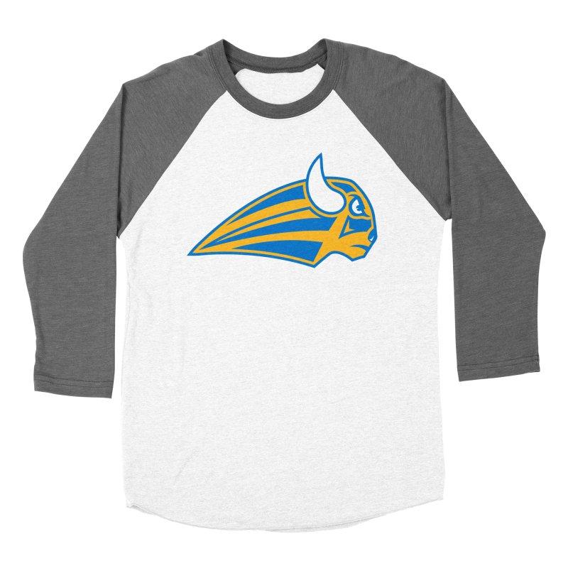 Raging Bison Women's Baseball Triblend Longsleeve T-Shirt by sleekandmodern's Artist Shop
