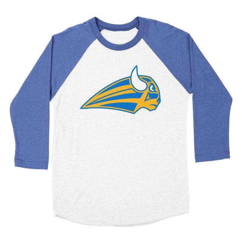 Raging Bison Men's Baseball Triblend Longsleeve T-Shirt by sleekandmodern's Artist Shop