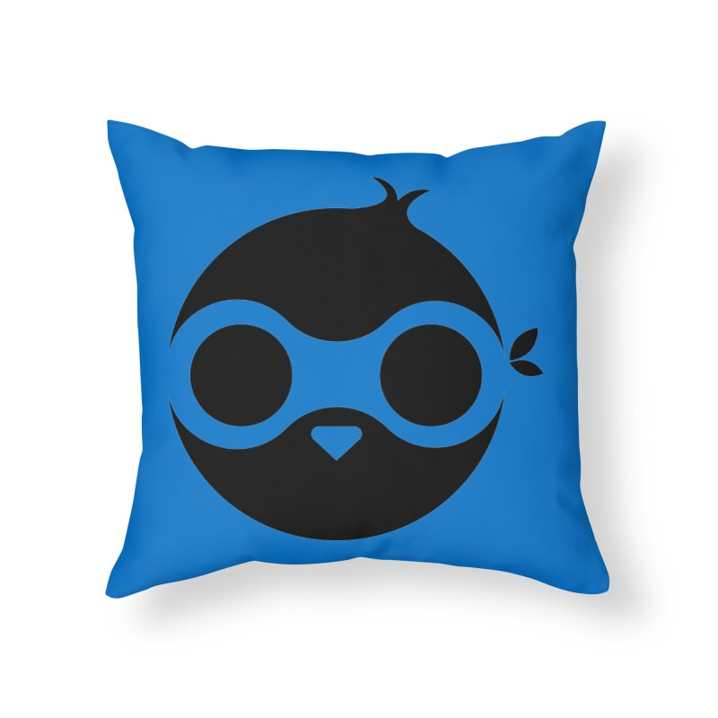 Penguin Home Throw Pillow by sleekandmodern's Artist Shop