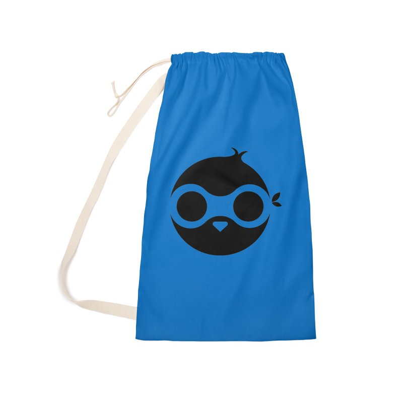 Penguin Accessories Laundry Bag Bag by sleekandmodern's Artist Shop