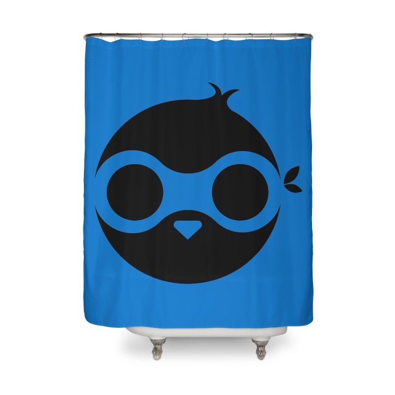 Penguin Home Shower Curtain by sleekandmodern's Artist Shop