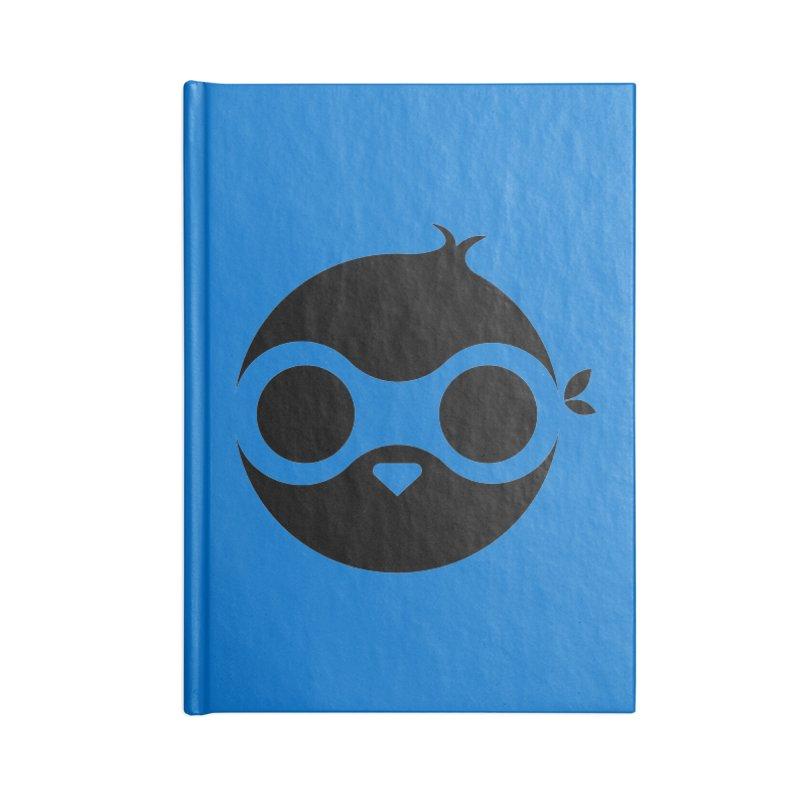 Penguin Accessories Lined Journal Notebook by sleekandmodern's Artist Shop