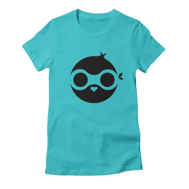 Penguin Women's Fitted T-Shirt by sleekandmodern's Artist Shop