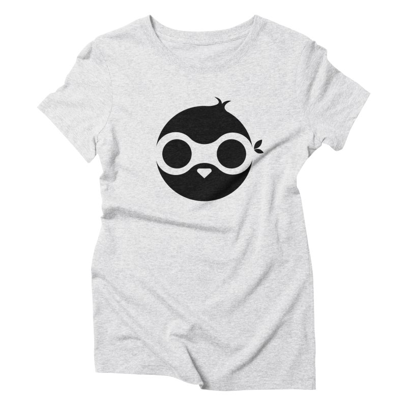 Penguin Women's Triblend T-Shirt by sleekandmodern's Artist Shop