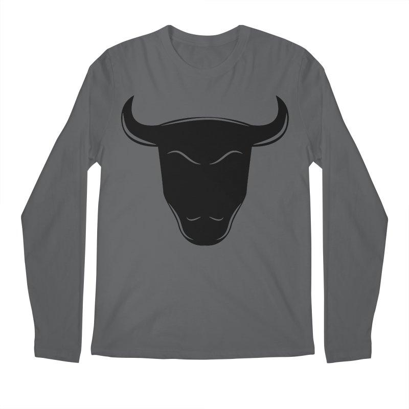 Bison Men's Regular Longsleeve T-Shirt by sleekandmodern's Artist Shop