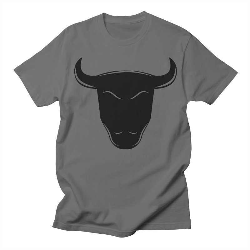 Bison Men's T-Shirt by sleekandmodern's Artist Shop
