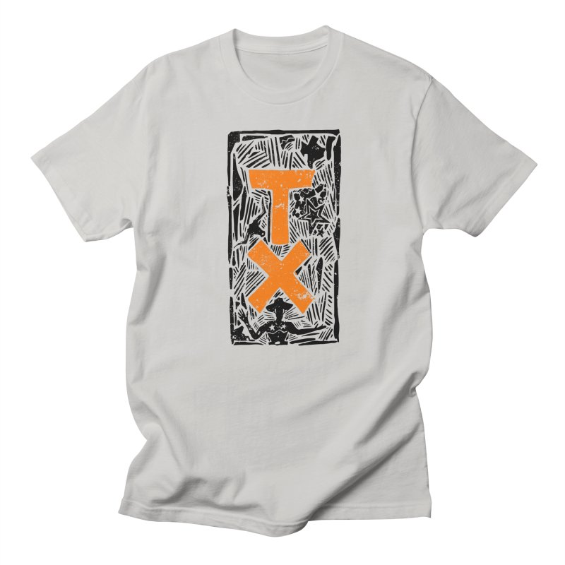 Texas Stamped in Men's T-Shirt Stone by Sleepless Jack Design