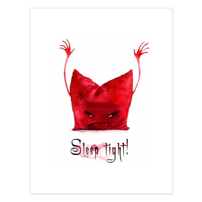 Sleep tight! Home Fine Art Print by sleepwalker's Artist Shop