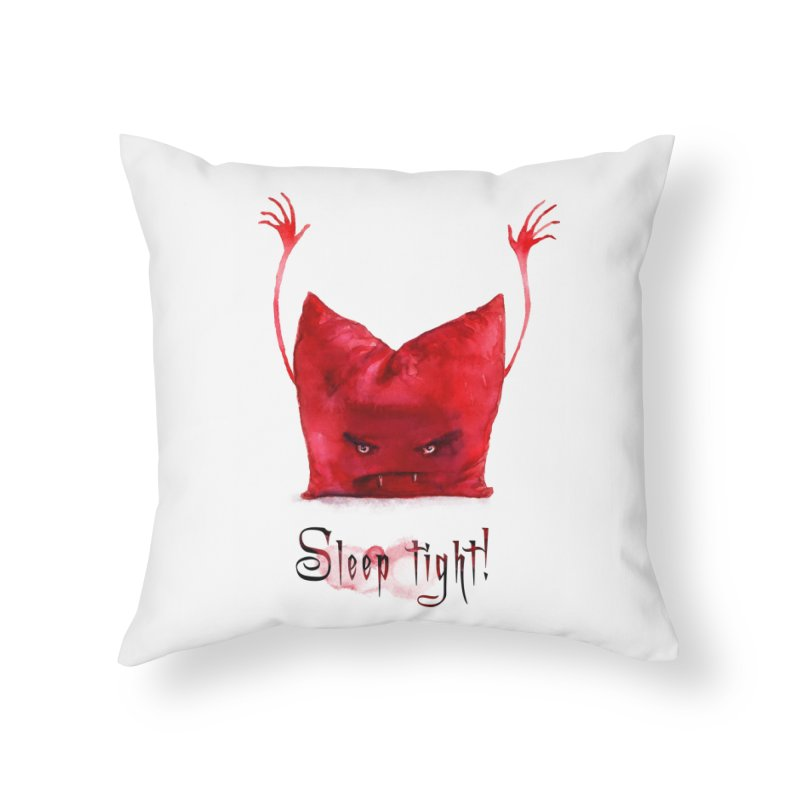 Sleep tight! Home Throw Pillow by sleepwalker's Artist Shop