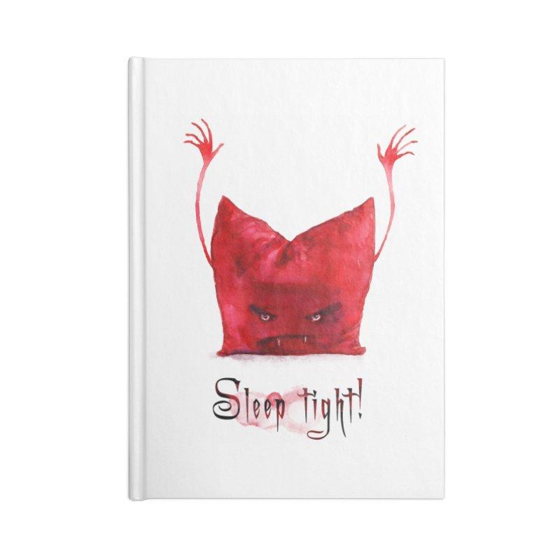 Sleep tight! Accessories Blank Journal Notebook by sleepwalker's Artist Shop