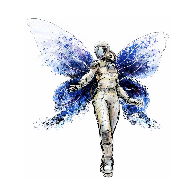 Space Butterfly None  by sleepwalker's Artist Shop