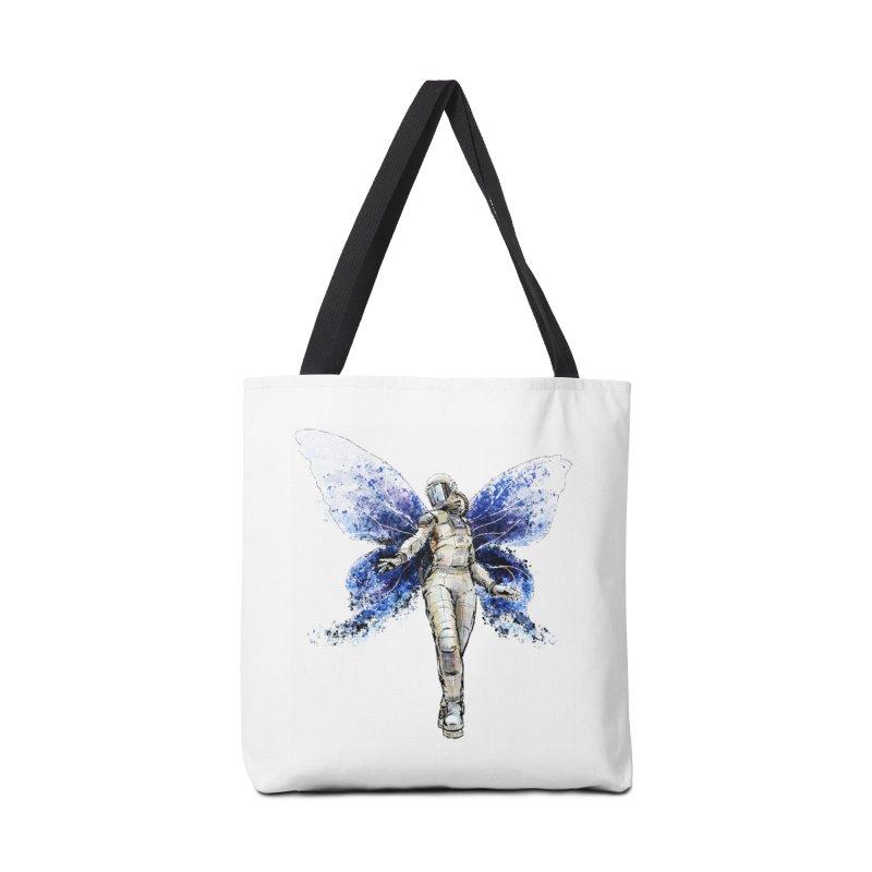 Space Butterfly Accessories Tote Bag Bag by sleepwalker's Artist Shop