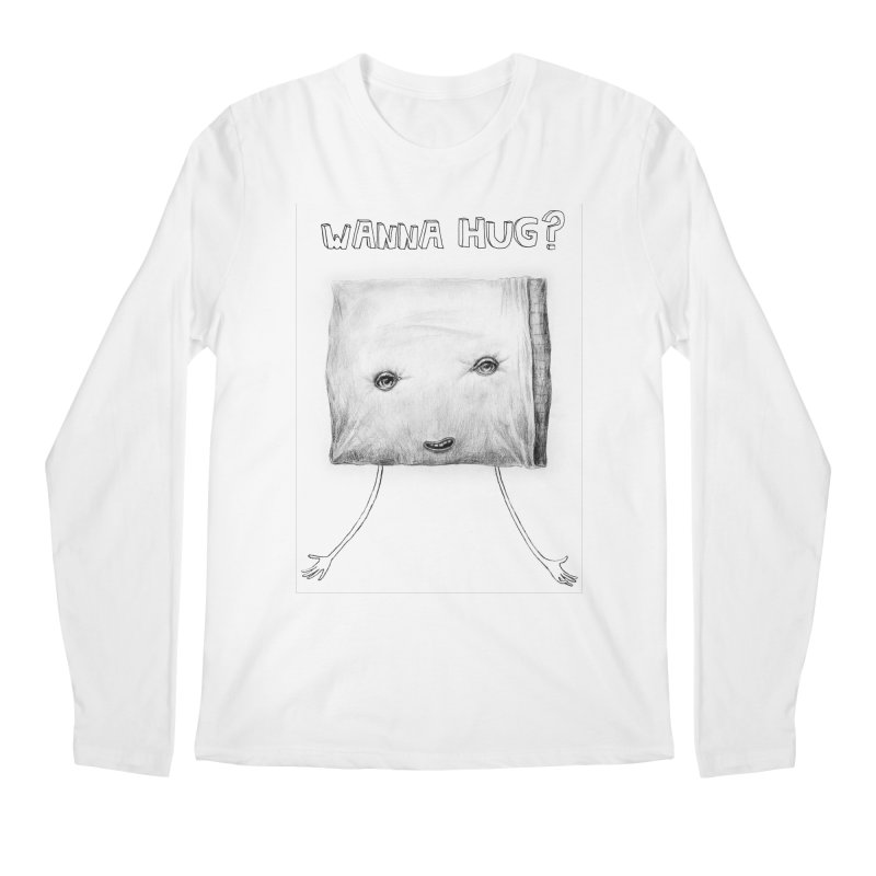 Wanna Hug? Men's Longsleeve T-Shirt by sleepwalker's Artist Shop