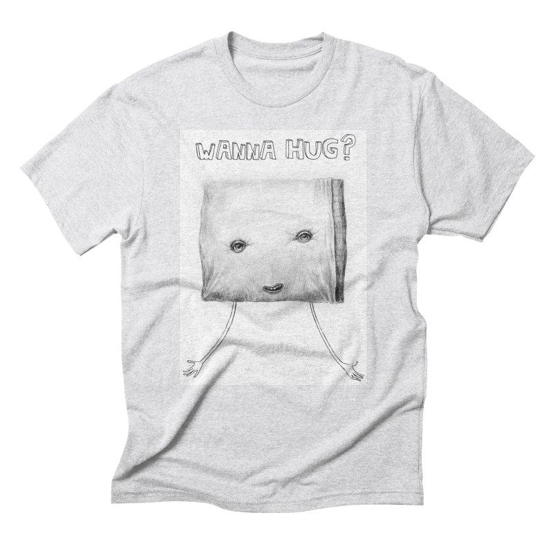 Wanna Hug? Men's Triblend T-Shirt by sleepwalker's Artist Shop
