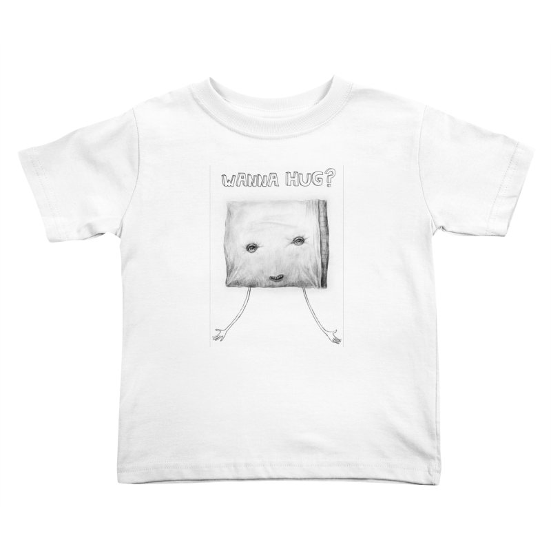 Wanna Hug? Kids Toddler T-Shirt by sleepwalker's Artist Shop