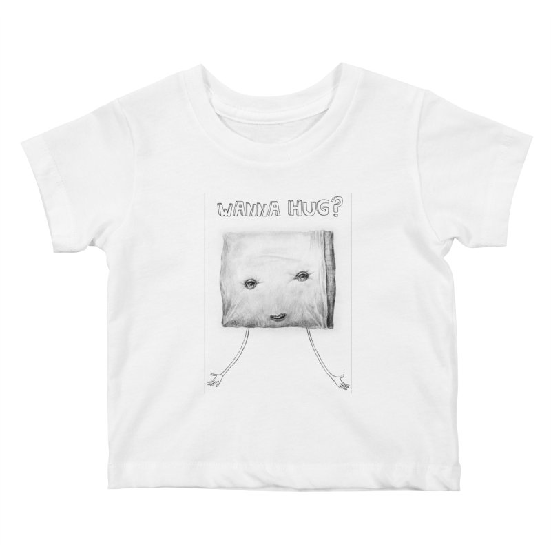Wanna Hug? Kids Baby T-Shirt by sleepwalker's Artist Shop