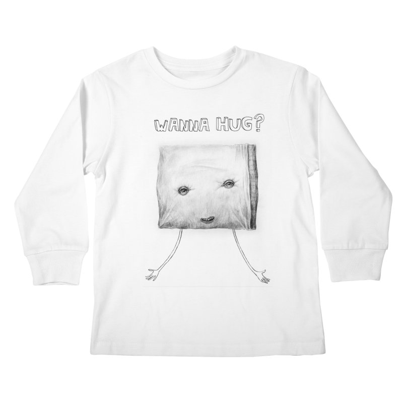 Wanna Hug? Kids Longsleeve T-Shirt by sleepwalker's Artist Shop