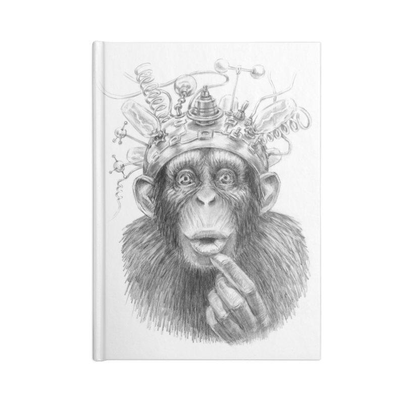 Intellect Amplifier Accessories Blank Journal Notebook by sleepwalker's Artist Shop