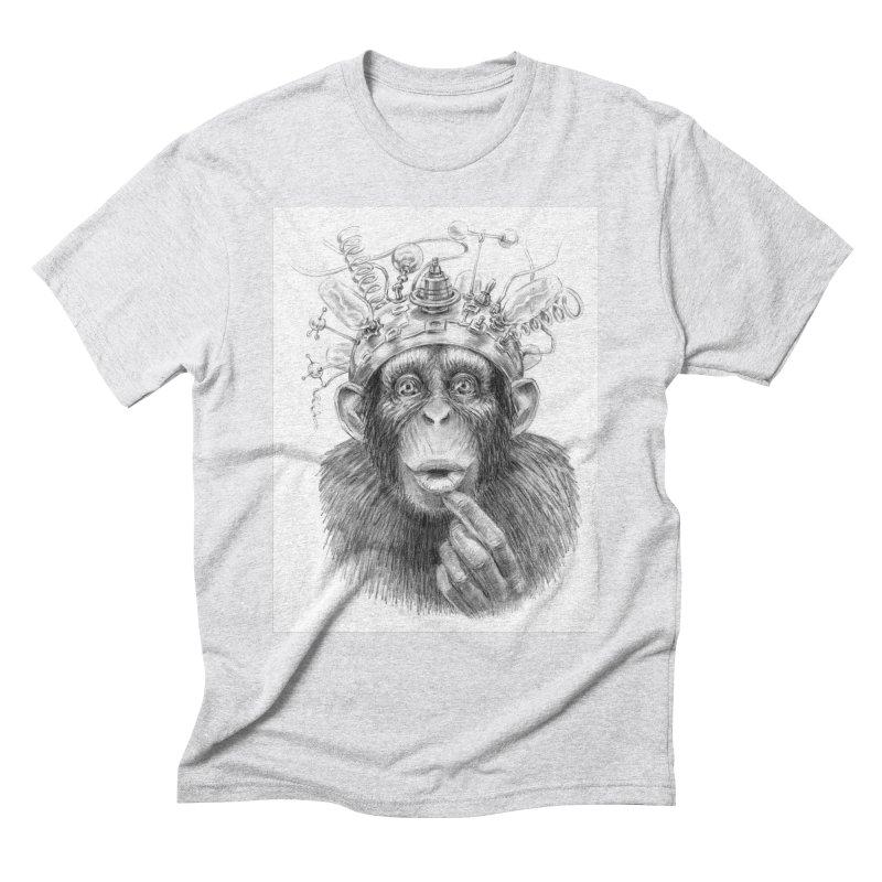 Intellect Amplifier Men's Triblend T-Shirt by sleepwalker's Artist Shop