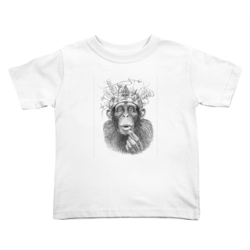 Intellect Amplifier Kids Toddler T-Shirt by sleepwalker's Artist Shop