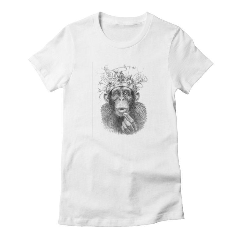 Intellect Amplifier Women's T-Shirt by sleepwalker's Artist Shop