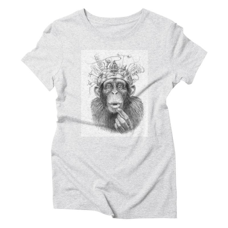Intellect Amplifier Women's Triblend T-shirt by sleepwalker's Artist Shop