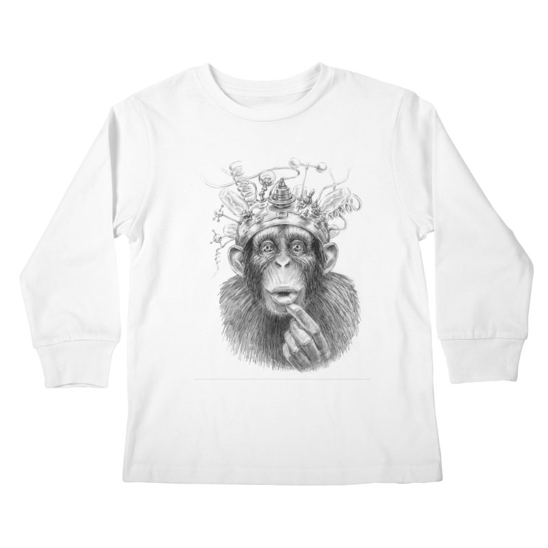Intellect Amplifier Kids Longsleeve T-Shirt by sleepwalker's Artist Shop