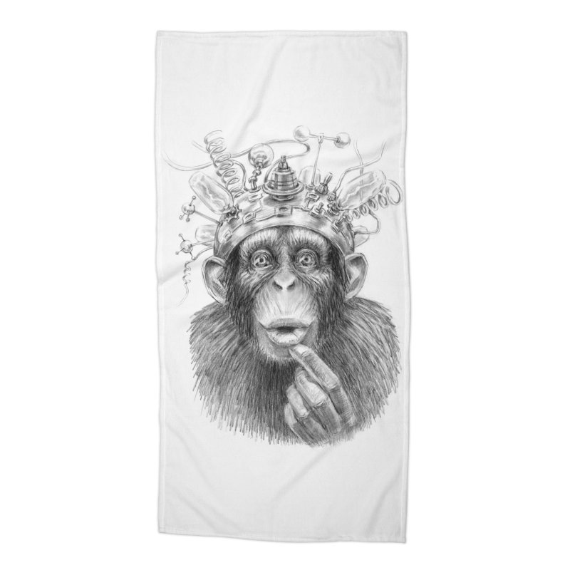 Intellect Amplifier Accessories Beach Towel by sleepwalker's Artist Shop