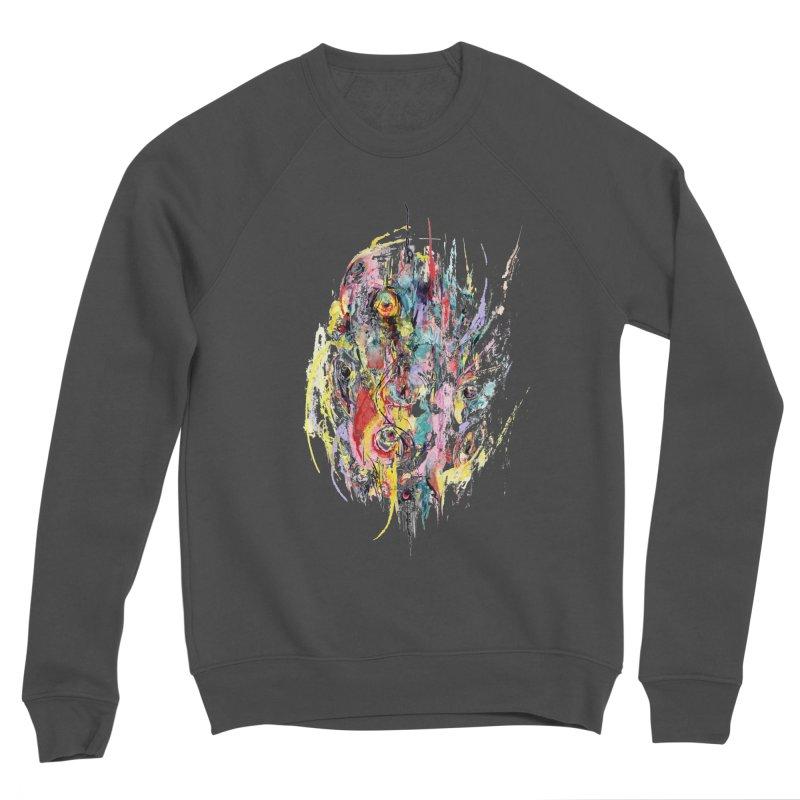 Abstract eyes Men's Sponge Fleece Sweatshirt by sleepwalker's Artist Shop