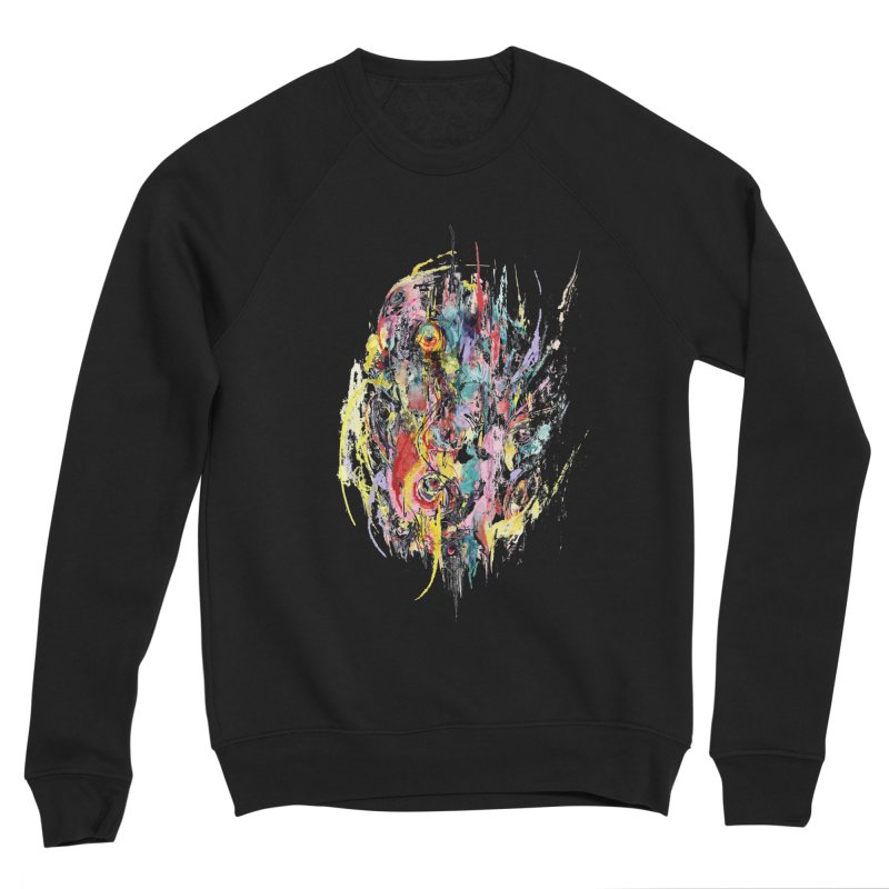 Abstract eyes Men's Sponge Fleece Sweatshirt by sleepwalker's Artist Shop