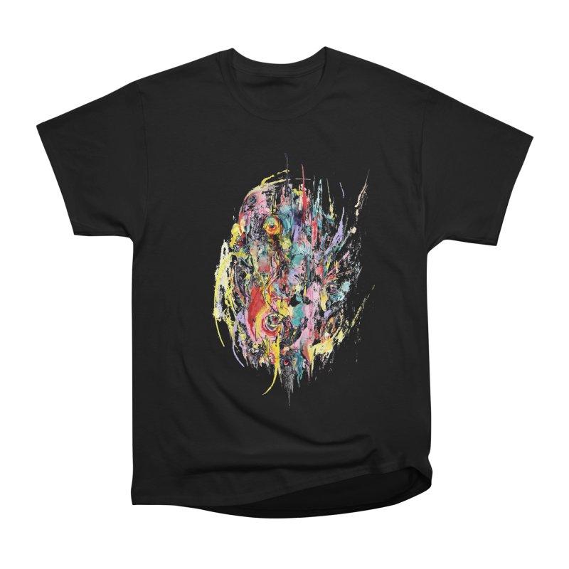 Abstract eyes Women's Heavyweight Unisex T-Shirt by sleepwalker's Artist Shop