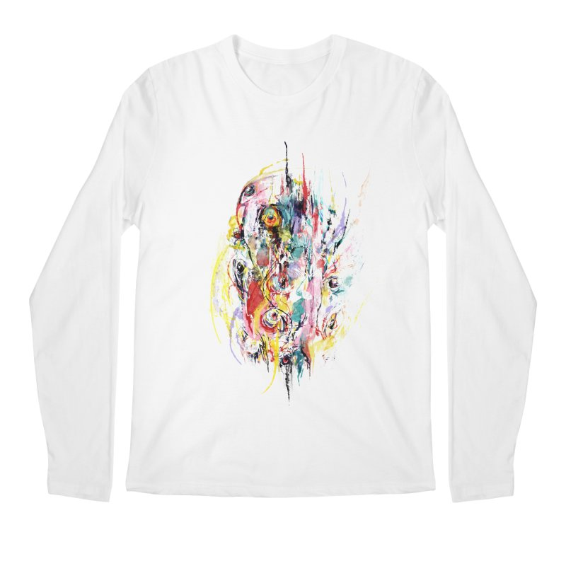Abstract eyes Men's Regular Longsleeve T-Shirt by sleepwalker's Artist Shop