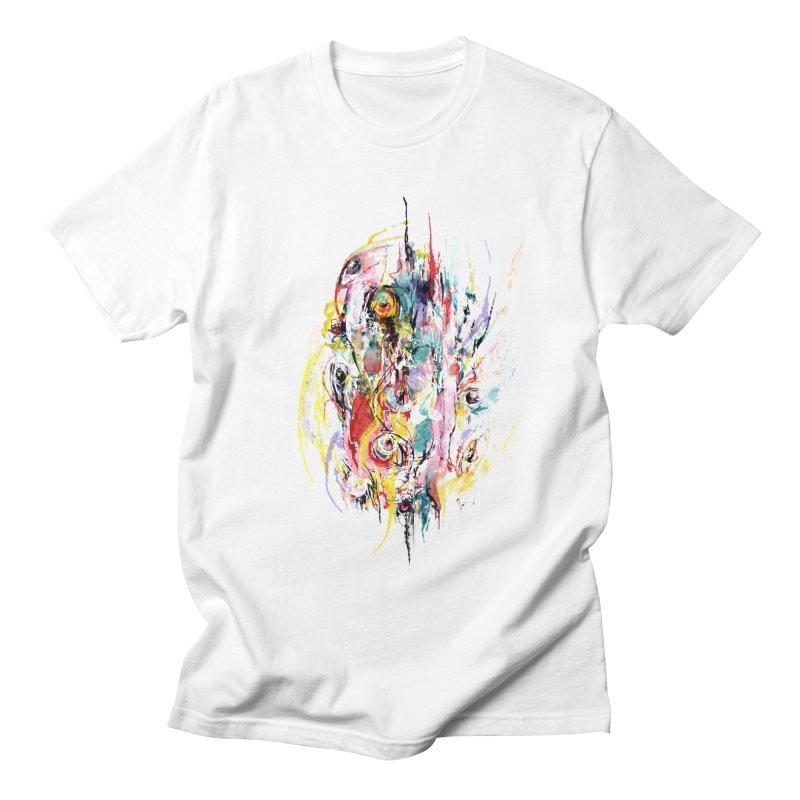 Abstract eyes Men's Regular T-Shirt by sleepwalker's Artist Shop