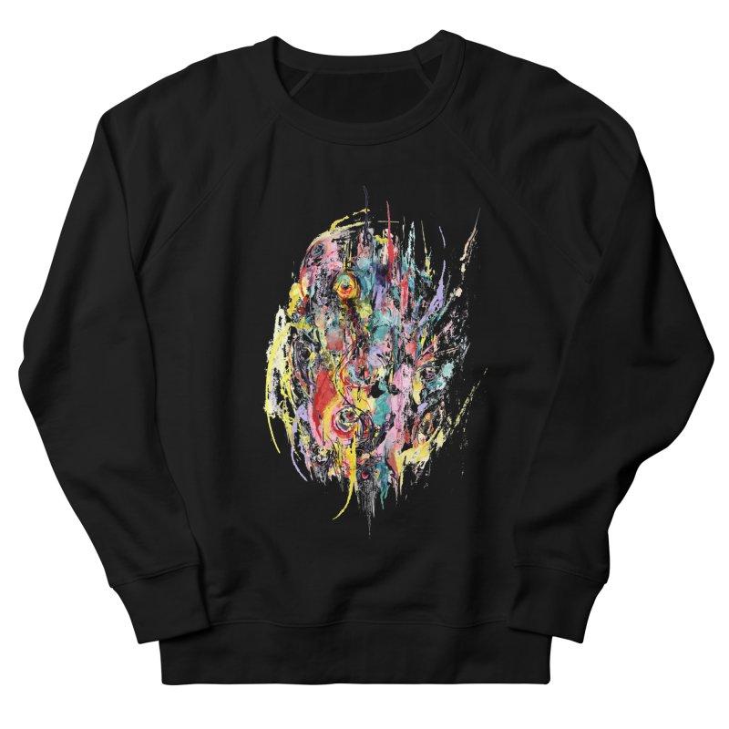 Abstract eyes Women's French Terry Sweatshirt by sleepwalker's Artist Shop
