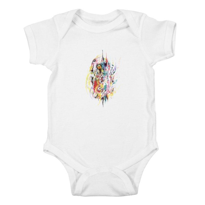 Abstract eyes Kids Baby Bodysuit by sleepwalker's Artist Shop