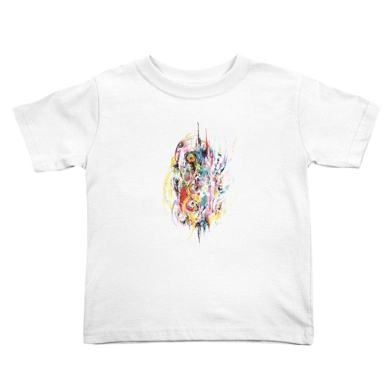 Abstract eyes Kids Toddler T-Shirt by sleepwalker's Artist Shop