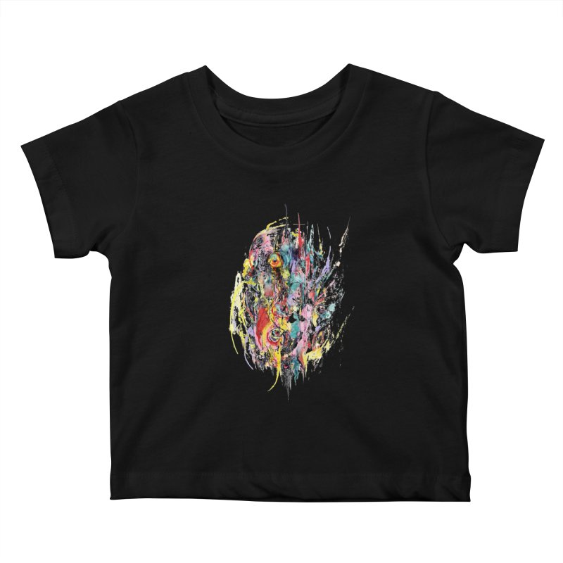 Abstract eyes Kids Baby T-Shirt by sleepwalker's Artist Shop