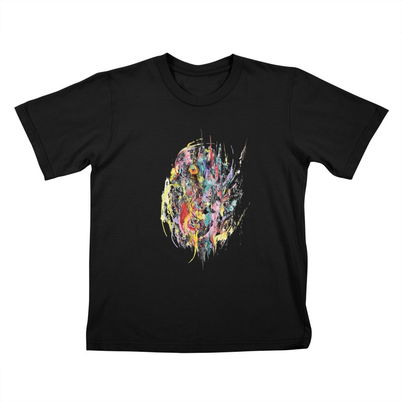 Abstract eyes Kids T-Shirt by sleepwalker's Artist Shop