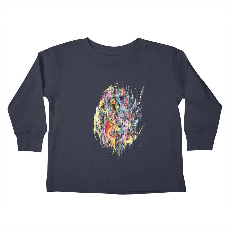 Abstract eyes Kids Toddler Longsleeve T-Shirt by sleepwalker's Artist Shop