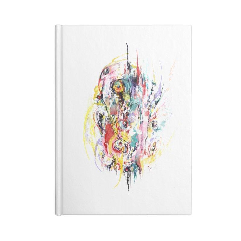 Abstract eyes Accessories Notebook by sleepwalker's Artist Shop
