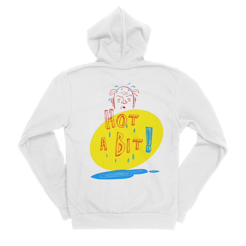 Summer Hot! Women's Sponge Fleece Zip-Up Hoody by sleepwalker's Artist Shop