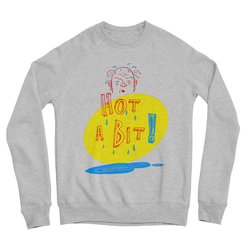 Summer Hot! Men's Sponge Fleece Sweatshirt by sleepwalker's Artist Shop