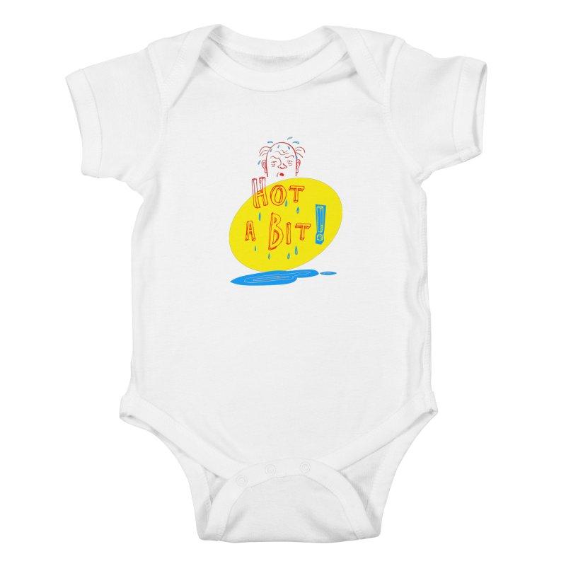 Summer Hot! Kids Baby Bodysuit by sleepwalker's Artist Shop