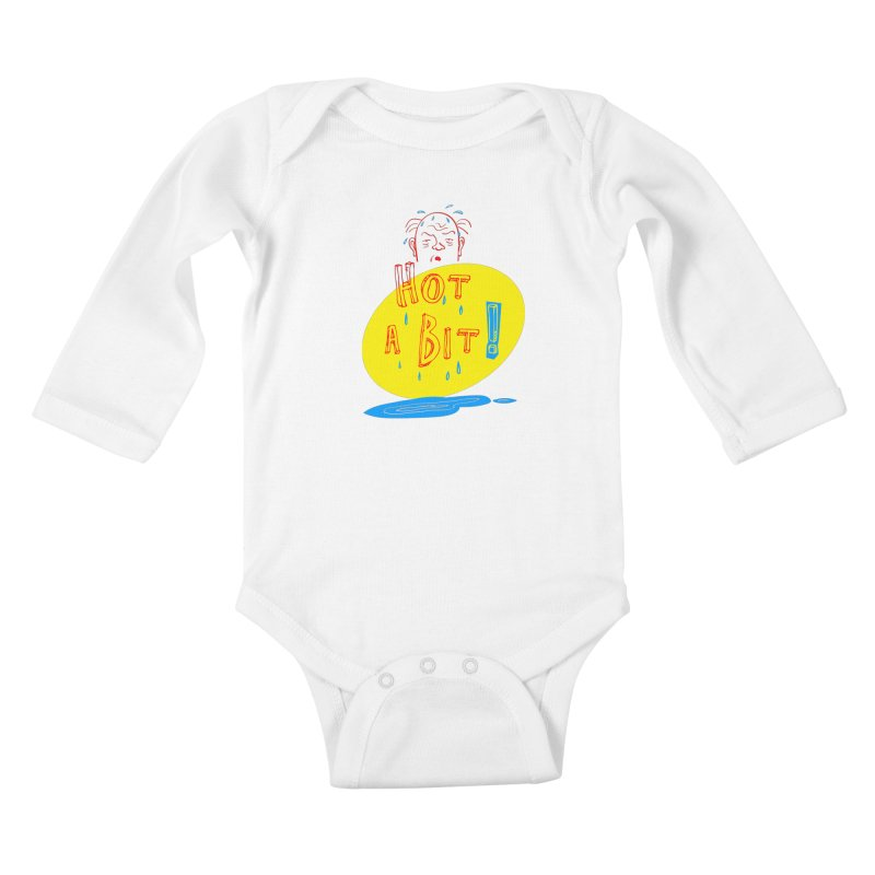 Summer Hot! Kids Baby Longsleeve Bodysuit by sleepwalker's Artist Shop