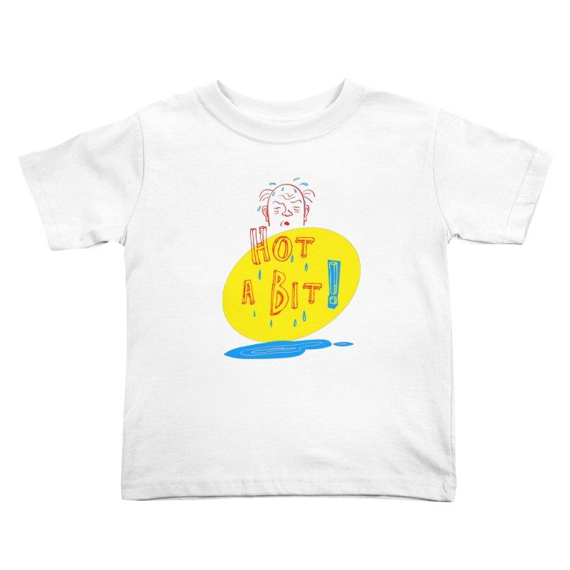 Summer Hot! Kids Toddler T-Shirt by sleepwalker's Artist Shop