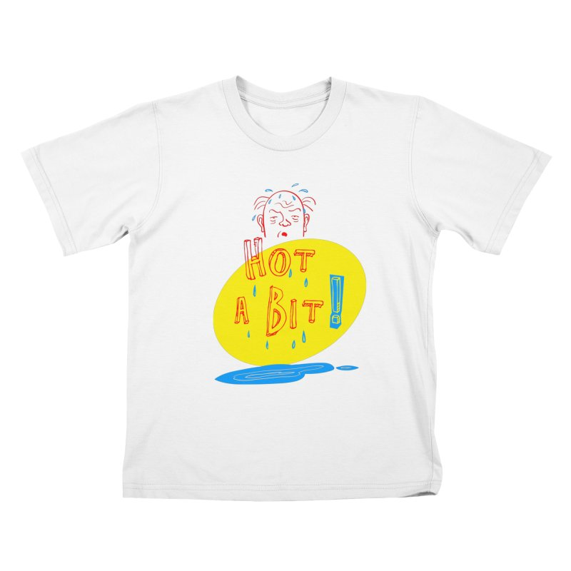 Summer Hot! Kids T-Shirt by sleepwalker's Artist Shop