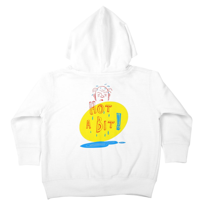 Summer Hot! Kids Toddler Zip-Up Hoody by sleepwalker's Artist Shop