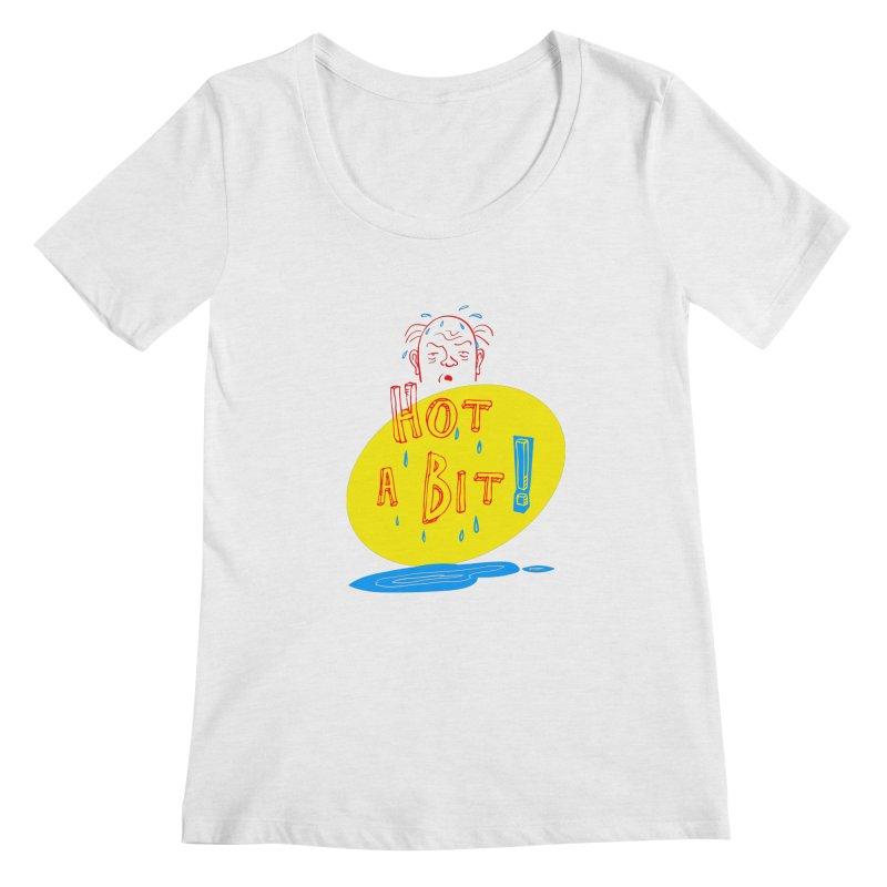 Summer Hot! Women's Regular Scoop Neck by sleepwalker's Artist Shop
